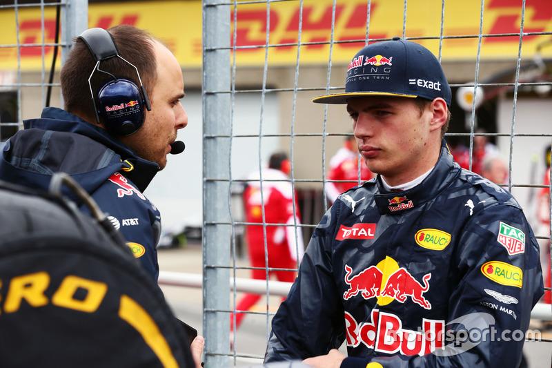Макс Ферстаппен, Red Bull Racing на стартовій решітці