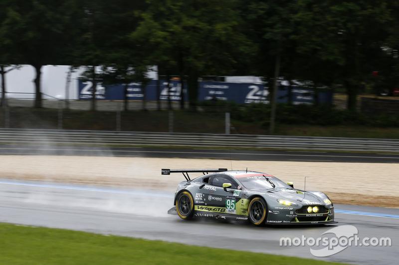 23. #95 Aston Martin Racing Aston Martin Vantage: Nicki Thiim, Marco Sorensen, Darren Turner