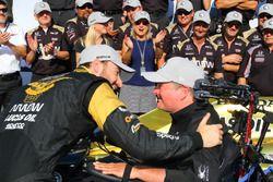 James Hinchcliffe, Schmidt Peterson Motorsports Honda, und Sam Schmidt