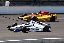 J.R. Hildebrand, Ed Carpenter Racing, Ryan Hunter-Reay, Andretti Autosport Honda