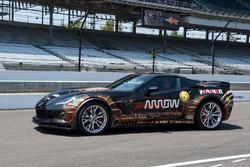 Sam Schmidt piloting the ARROW Chevrolet Corvette
