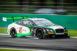 #24 Team Parker Racing, Bentley Continental GT3: Ian Loggie, Callum Macleod, Tom Onslow-Cole