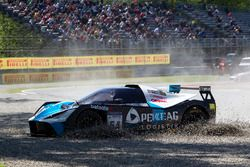 Marko Helistekangas, Doreen Seidel, RYS Team Pankl, KTM X-BOW GTR in the gravel