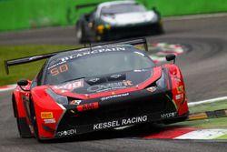 #888 Kessel Racing, Ferrari 458 GT3: Marco Zanuttini, Liam Talbot, Vadim Glitin