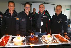 Celebration of 10 years of GT3 Competition with Jerome Policand, Akka Asp - Laurent Gaudin, Blancpai