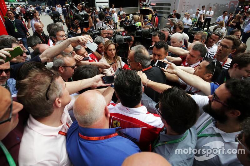 Sergio Marchionne, Ferrari Başkanı ve Fiat Chrysler CEO