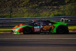 #666 Barwell Motorsport Lamborghini Huracan GT3: Jon Minshaw, Phil Keen, Oliver Gavin, Joe Osborne