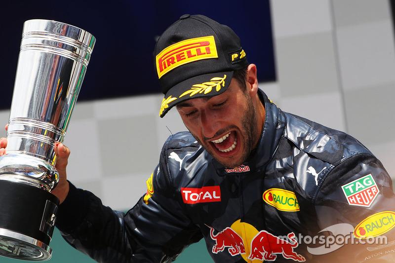 Será que Ricciardo ficou feliz?