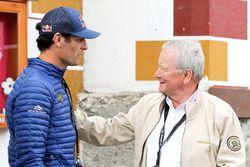 Mark Webber ve Wolfgang Porsche