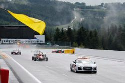 Race end behind the safety car, Lance Stroll, Prema Powerteam, Dallara F312 - Mercedes-Benz