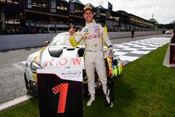 #99 Rowe Racing, BMW M6 GT3: Alexander Sims celebran