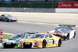 #24 kfzteile24 - APR Motorsport, Audi R8 LMS: Florian Stoll, Laurens Vanthoor; #50 YACO Racing, Audi