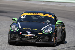 #22 Kris Wright Racing Porsche Cayman: Kris Wright, Andy Lee