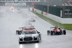 Safety Car, Lance Stroll, Prema Powerteam, Dallara F312 - Mercedes-Benz, Maximilian Günther, Prema P