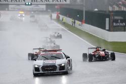 Safety Car, Lance Stroll, Prema Powerteam, Dallara F312 - Mercedes-Benz, Maximilian Günther, Prema Powerteam, Dallara F312 – Mercedes-Benz