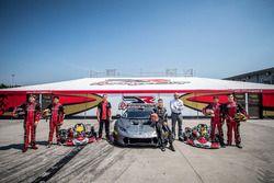 Lamborghini Squadra Corse e DR Racing Kart