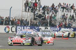 Guillermo Ortelli, JP Racing Chevrolet, Lionel Ugalde, Ugalde Competicion Ford, Emiliano Spataro, Tr