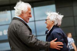 Enrique Scalabroni con Bernie Ecclestone
