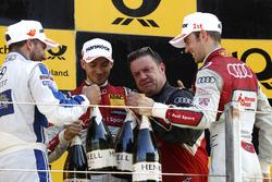 Podium : Gary Paffett, Mercedes-AMG Team ART, Mercedes-AMG C63 DTM; Edoardo Mortara, Audi Sport Team Abt Sportsline, Audi RS 5 DTM; Jamie Green, Audi Sport Team Rosberg, Audi RS 5 DTM