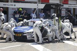 Pit stop Maxime Martin, BMW Team RBM, BMW M4 DTM