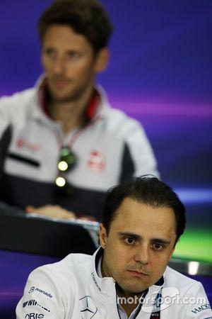 Фелипе Масса, Williams на пресс-конференции FIA