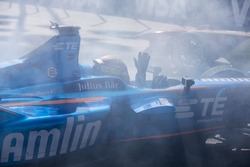 Incidente: Robin Frijns, Amlin Andretti