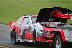 El choque de Ryan Reed, Roush Fenway Racing Ford