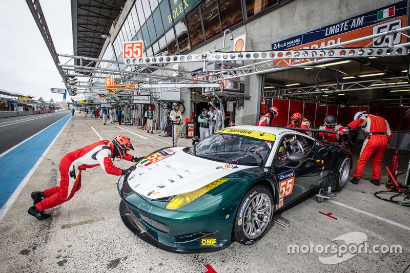 4. LMGTE-Am: #55 AF Corse, Ferrari 458 Italia