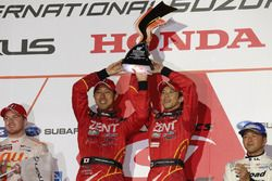Podium GT500: race winners #38 Team Zent Cerumo Lexus RC F: Yuji Tachikawa, Hiroaki Ishiura