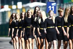 Des grid girls