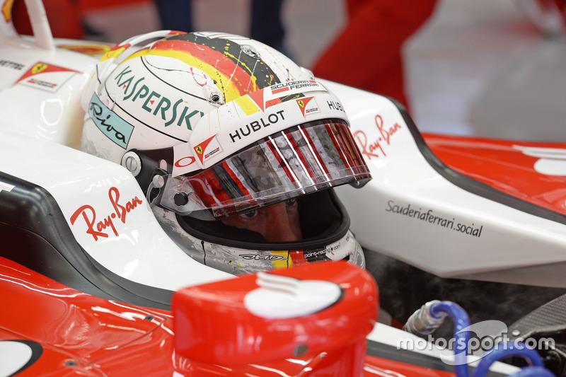 Belgique 2016 - Sebastian Vettel, Ferrari