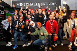 Cerimonia di premiazione MINI Challenge 2016