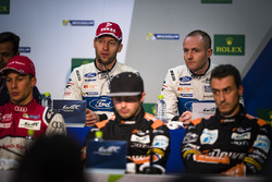 Polesitters GTE PRO #66 Ford Chip Ganassi Racing Team UK Ford GT: Olivier Pla, Stefan Mücke