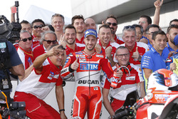 Andrea Dovizioso, Ducati Team, deuxième de la course