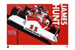 Poster de James Hunt, McLaren M23