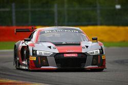#6 Audi Team Phoenix, Audi R8 LMS: Christopher Mies, Markus Winkelhock, Frank Stippler