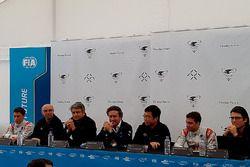 Pressekonferenz mit Loic Duval, Dragon Racing und Jérôme d'Ambrosio, Dragon Racing