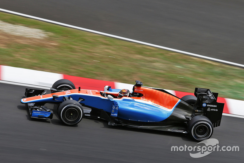 15. Pascal Wehrlein, Manor Racing MRT05