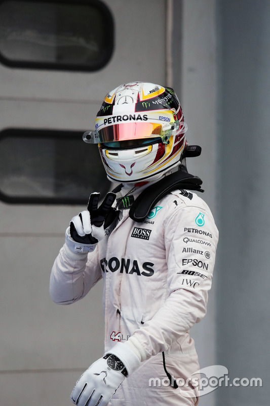 Hamilton currently has four poles at Sepang and could equal the German legend's record