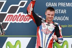 Podium: race winner Sam Lowes, Federal Oil Gresini Moto2