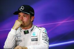 Ніко Росберг, Mercedes AMG F1 під час прес-конференції FIA