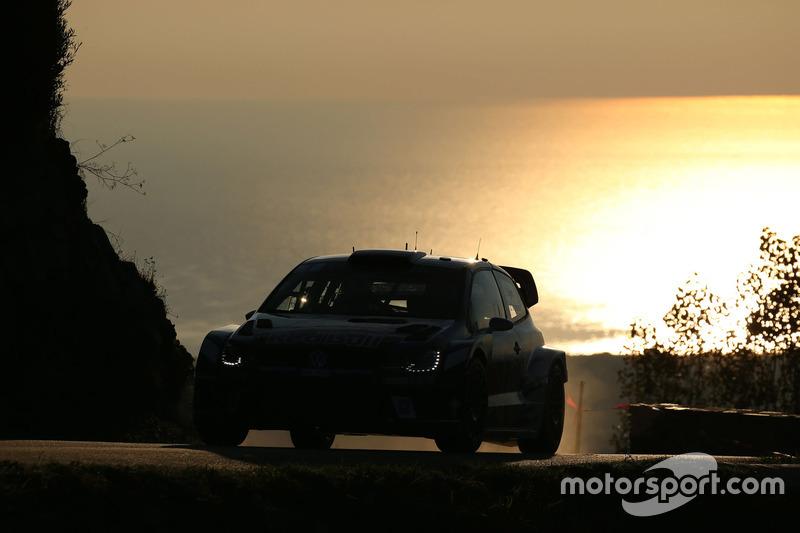 Tour de Corse : Sébastien Ogier et Julien Ingrassia (Volkswagen)