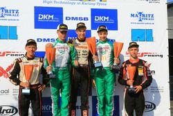 Podium: DKM Rennen 2