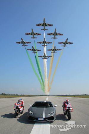 Andrea Dovizioso, Ducati Team, Michele Pirro, Ducati Team ve Mirko Bortolotti