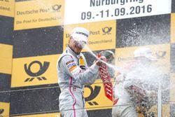 Podium: Lucas Auer, Mercedes-AMG Team Mücke, Mercedes-AMG C63 DTM