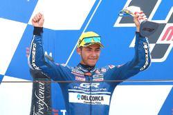 Second place Enea Bastianini, Gresini Racing Team Moto3