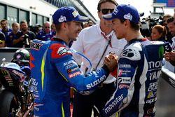 Polesitter Jorge Lorenzo, Yamaha Factory Racing, Maverick Viñales, Team Suzuki MotoGP
