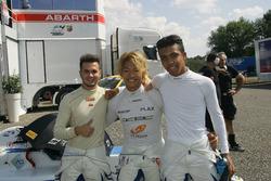 Simone Cunati, Vincenzo Sospiri Racing, Marino Sato, Vincenzo Sospiri Racing, e Jaden Conwright, Vin
