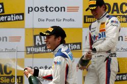 Podium: #1 AMG - Team Zakspeed Mercedes-AMG GT3: Luca Ludwig, Sebastian Asch