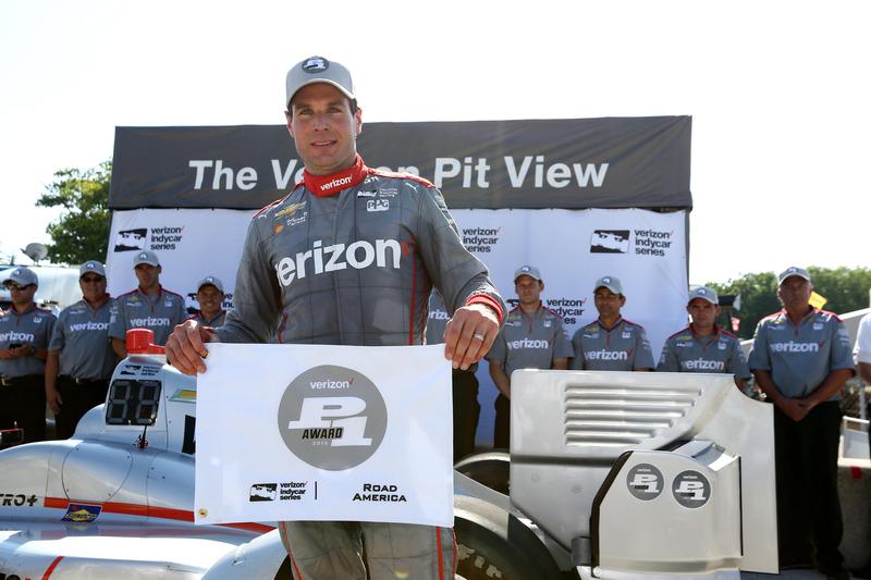 Pole pozisyonu: Will Power, Team Penske Chevrolet